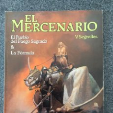 Cómics: EL MERCENARIO - EL PUEBLO DEL FUEGO SAGRADO & LA FÓRMULA. CIMOC EXTRA COLOR 28/29 NORMA 1983 ¡NUEVO!. Lote 218429917