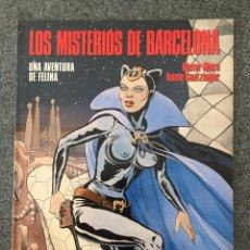 Cómics: FELINA - LOS MISTERIOS DE BARCELONA - CIMOC EXTRA COLOR 30 - NORMA - 1987 - ¡NUEVO!. Lote 218430457