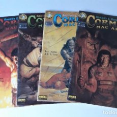 Cómics: CORMAC MAC ART - SERIE LIMITADA DE 4 NÚMEROS - ROY THOMAS Y E. R. CRUZ. Lote 218493096
