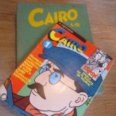 Cómics: 12 PRIMEROS NÚMEROS DEL CAIRO EN SU CAJA ORIGINAL. Lote 218618132