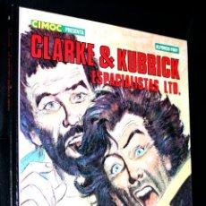 Fumetti: CLARKE & KUBRICK ESPACIALISTAS LTD ( ALFONSO FONT ) NORMA (CIMOC PRESENTA) TAPA DURA. Lote 218638428