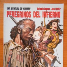 Cómics: PEREGRINOS DEL INFIERNO - HOMBRE Nº 7 - SEGURA, ORTIZ - CIMOC EXTRA COLOR Nº 119 - NORMA (AN). Lote 218667111