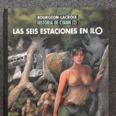 Comics : LAS SEIS ESTACIONES EN ILO - HISTORIA DE CYANN 2 - CIMOC EXTRA COLOR 145 - 1ª ED. NORMA 1997 ¡NUEVO!. Lote 218692492