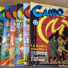 Cómics: NÚMEROS 13, 14, 15, 16, 17, 18. 19 Y 20 DE COMIC CAIRO. Lote 218731545