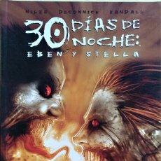 Cómics: 30 DÍAS DE NOCHE: EBEN Y STELLA DE STEVE NILES, KELLY SUE DECONNICK, JUSTIN RANDALL. Lote 219029721