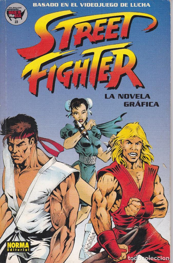 STREET FIGHTER LA NOVELA GRAFICA BASADO EN EL VIDEOJUEGO DE LUCHA Nº 23 EDITADO POR NORMA 1995 (Tebeos y Comics - Norma - Comic USA)