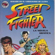 Cómics: STREET FIGHTER LA NOVELA GRAFICA BASADO EN EL VIDEOJUEGO DE LUCHA Nº 23 EDITADO POR NORMA 1995. Lote 219469418