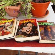 Cómics: COMIC CIMOC NUM.22 A 45 TRES TOMOS 25 NUMEROS. Lote 219693900