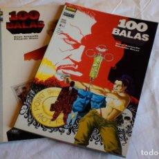 Cómics: 100 BALAS, PRIMER DISPARO, BRIAN AZZARELLO Y EDUARDO RISSO. 2 TOMOS. Lote 220108115