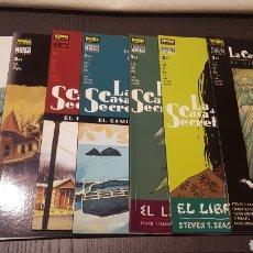 Cómics: COMICS - LA CASA DE LOS SECRETOS - CIMIENTOS - EL CAMINO HACIA TI - EL LIBRO DE LA LEY - NORMA -. Lote 220412097