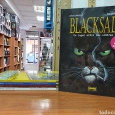 Fumetti: LOTE DE 5 TOMOS BLACKSAD DE DIAZ CANALES Y JUANJO GUARNIDO NORMA EDITORIAL. Lote 220466790