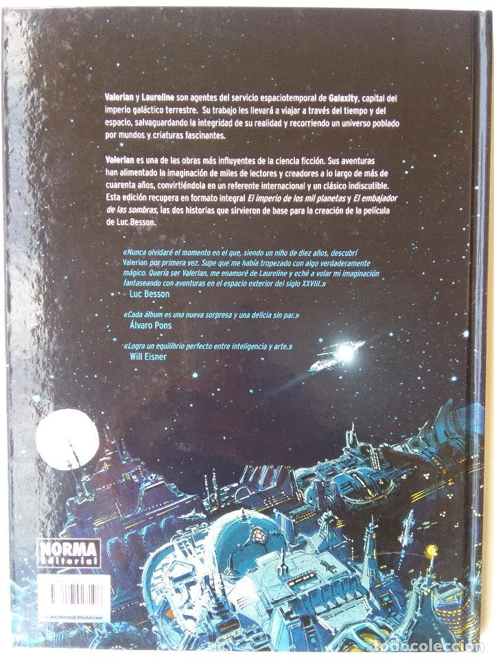 Cómics: VALERIAN Y LA CIUDAD DE LOS MIL PLANETAS - Foto 2 - 220473618