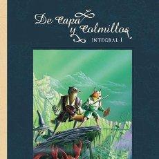 Cómics: DE CAPA Y COLMILLOS - NORMA / EDICIÓN INTEGRAL / RUSTICA. Lote 220599838