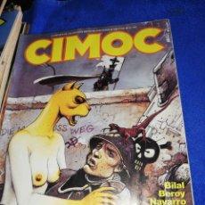 Cómics: CÓMIC CIMOC.. 21 TOMOS.. CONSERVACIÓN 10... Lote 220755228