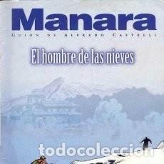 Cómics: EL HOMBRE DE LAS NIEVES (M MANARA / A. CASTELL) COL. MANARA COLOR Nº 16 - NORMA - IMPECABLE - OFI15S. Lote 220792991