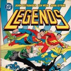 Cómics: LEGENDS. CLÁSICOS DC Nº5 – JOHN OSTRANDER, LEN WEIN Y JOHN BYRNE. Lote 220854486