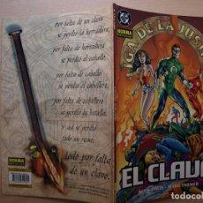 Cómics: LIGA DE LA JUSTICIA - EL CLAVO, 2 DE 3 - FORMATO CARTONE - NORMA EDITORIAL - NUEVO. Lote 220880995