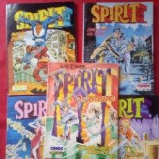 Comics : SPIRIT WILL EISNER CIMOC NORMA LOS 5 TITULOS COLECCION CM3. Lote 220953601