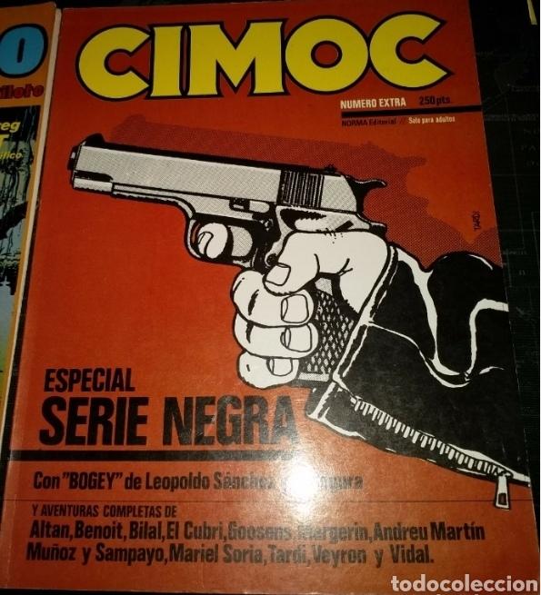 CIMOC SERIE NEGRA NÚMERO EXTRA (Tebeos y Comics - Norma - Cimoc)