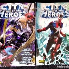 Cómics: CITY OF HEROES (1 Y 2 COMPLETA) MARK WAID, DAVID NARAYAMA) NORMA 2007 ''MUY BUEN ESTADO''. Lote 221113478
