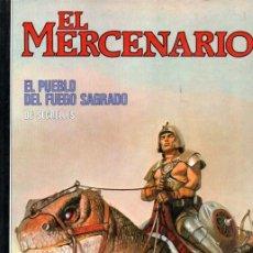 Cómics: SEGRELLES : EL MERCENARIO - ELPUEBLO DEL FUEGO SAGRADO (1986) TAPA DURA. Lote 221129277