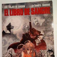 Cómics: CIMOC EXTRA COLOR N° 88 EL LIBRO DE SANGRE. Lote 221307273