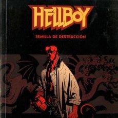 Cómics: HELLBOY. SEMILLA DE DESTRUCCIÓN (NORMA, 2002) DE MIKE MIGNOLA Y JOHN BYRNE. Lote 221471067