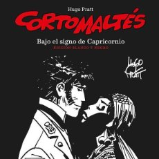 Cómics: CORTO MALTES : BAJO EL SIGNO DE CAPRICORNIO - NORMA / EDICION BLANCO Y NEGRO / TAPA DURA. Lote 221581820