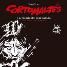 Cómics: CORTO MALTES : LA BALADA DEL MAR SALADO - NORMA / EDICION BLANCO Y NEGRO / TAPA DURA. Lote 221582333