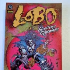 Fumetti: LOBO N° 12 EL ULTIMO CZARNIANO. Lote 221590312