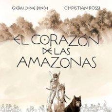 Cómics: EL CORAZON DE LAS AMAZONAS - NORMA / EDICION INTEGRAL / TAPA DURA. Lote 221592721
