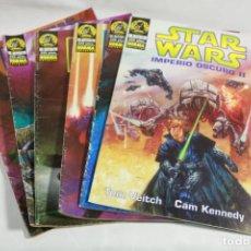 Cómics: LOTE DE SEIS CÓMICS DE STAR WARS. Lote 221593325