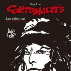 Cómics: CORTO MALTES LAS ETIOPICAS BLANCO Y NEGRO. Lote 221596897