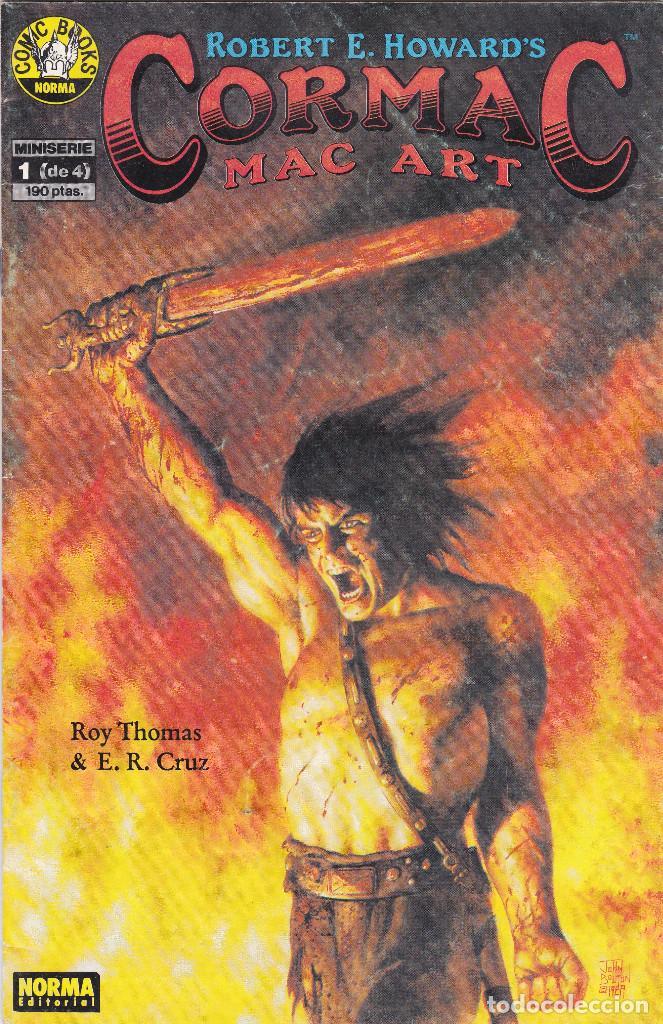 CORMAC MAC ART - Nº 1 DE 4 - 1990 - NORMA (Tebeos y Comics - Norma - Otros)