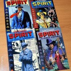 Cómics: SERIE COMPLETA DE 4 TOMOS: THE SPIRIT, LAS NUEVAS AVENTURAS - WILL EISNER - NORMA EDITORIAL - 1998. Lote 221660501