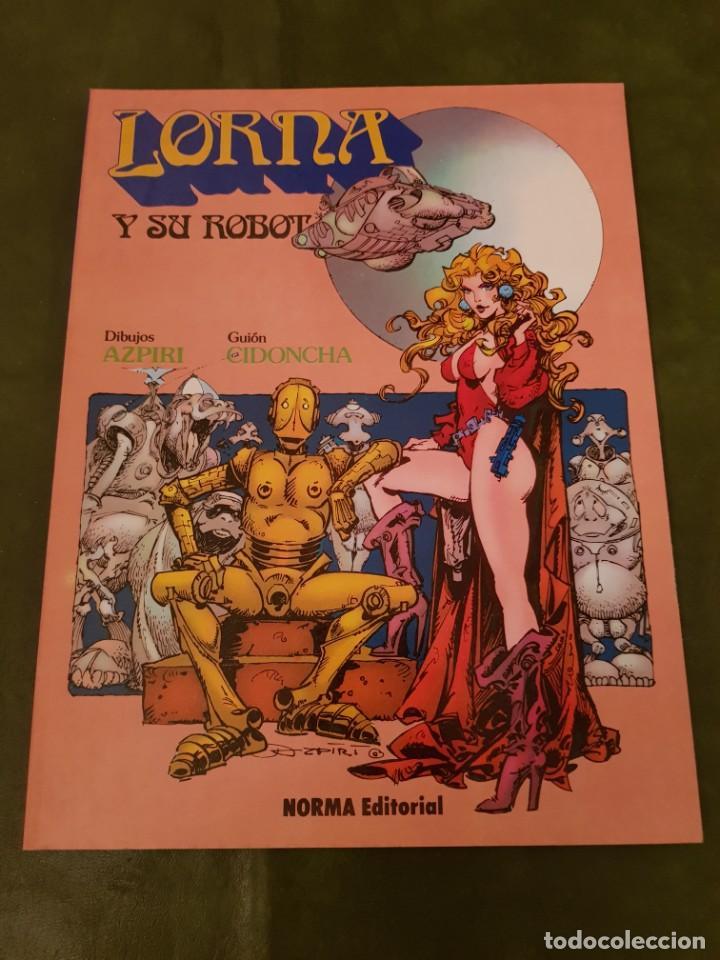 LORNA Y SU ROBOT LASCIVO (Tebeos y Comics - Norma - Otros)
