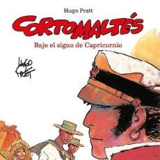 Cómics: CORTO MALTES : BAJO EL SIGNO DE CAPRICORNIO - NORMA / EDICION EN COLOR / TAPA DURA. Lote 221699053