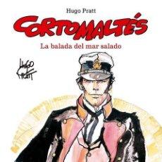 Cómics: CORTO MALTES : LA BALADA DEL MAR SALADO - NORMA / EDICION EN COLOR / TAPA DURA / HUGO PRATT. Lote 221706651