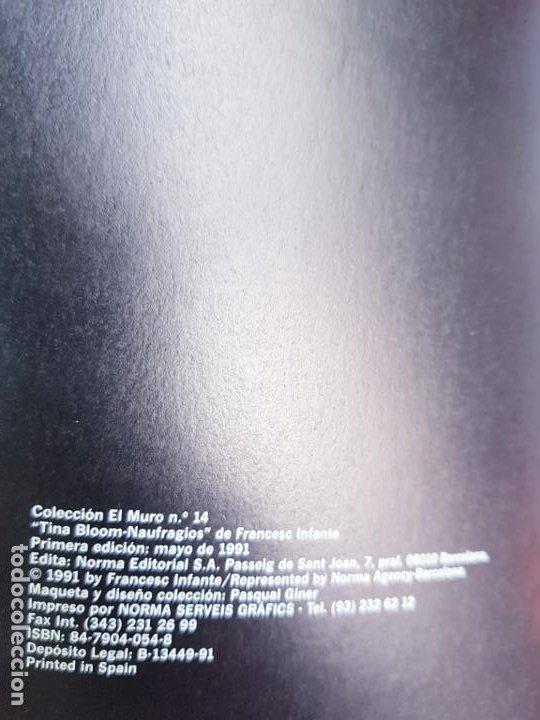 Cómics: COMIC-TINA BLOOM-INFANTE-COLECCIÓN EL MURO-NORMA EDITORIAL-BUEN ESTADO - Foto 7 - 221513821