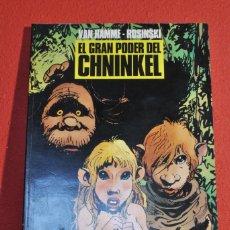 Comics: EL GRAN PODER DEL CHNINKEL DE ROSINSKI Y VAN HAMME. COLECCIÓN B/N NORMA. Lote 221769822