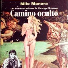 Cómics: MILO MANARA - CAMINO OCULTO -. Lote 221886426