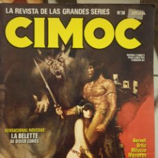 Cómics: CIMOC. LA REVISTA DE LAS GRANDES SERIES. MAMAGRAF. Lote 221949295