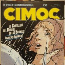 Cómics: CIMOC. LAS REVISTA DE LAS GRANDES AVENTURAS. MAMAGRAF. Lote 221952820