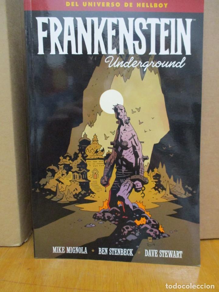 UNIVERSO HELLBOY / FRANKENSTEIN UNDERGROUND / MIKE MIGNOLA / NORMA COMICS (Tebeos y Comics - Norma - Comic USA)