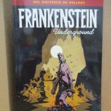 Comics: UNIVERSO HELLBOY / FRANKENSTEIN UNDERGROUND / MIKE MIGNOLA / NORMA COMICS. Lote 222057445