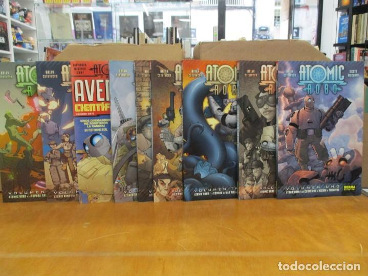 ATOMIC ROBO / COMPLETA / 9 TOMOS / BRIAN CLEVINGER - SCOTT WEGEN / NORMA COMICS (Tebeos y Comics - Norma - Comic USA)