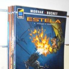 Cómics: ESTELA LOTE Nº 1-2-3-4-5-6-7-8 - COLECCION PANDORA - NORMA OFERTA. Lote 222063992