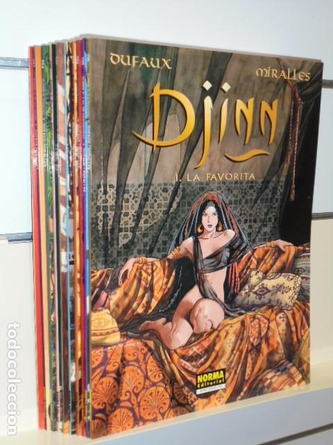 DJINN LOTE Nº 1 AL 10 - COLECCION PANDORA - NORMA OFERTA (Tebeos y Comics - Norma - Otros)