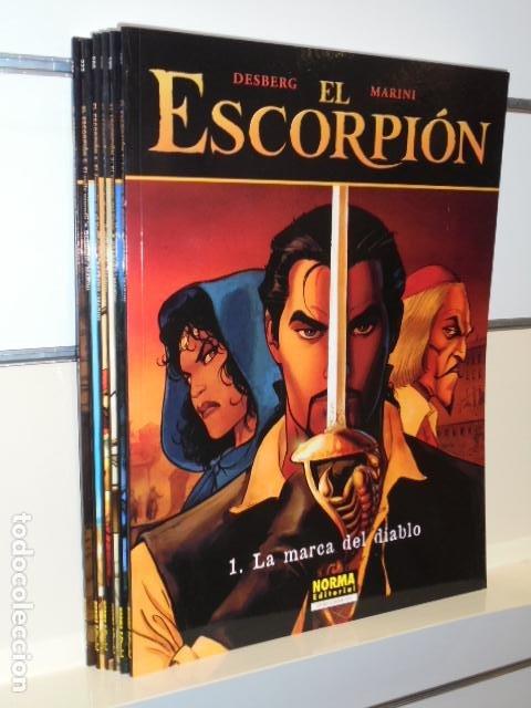 EL ESCORPION LOTE Nº 1-2-3-4-5-6 - COLECCION PANDORA - NORMA OFERTA (Tebeos y Comics - Norma - Otros)