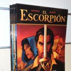 Cómics: EL ESCORPION LOTE Nº 1-2-3-4-5-6 - COLECCION PANDORA - NORMA OFERTA. Lote 222064810